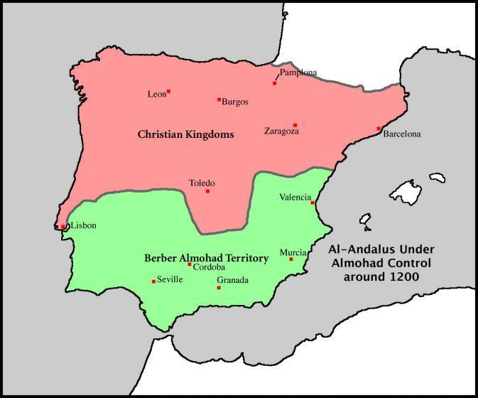 Spain Almohad Color