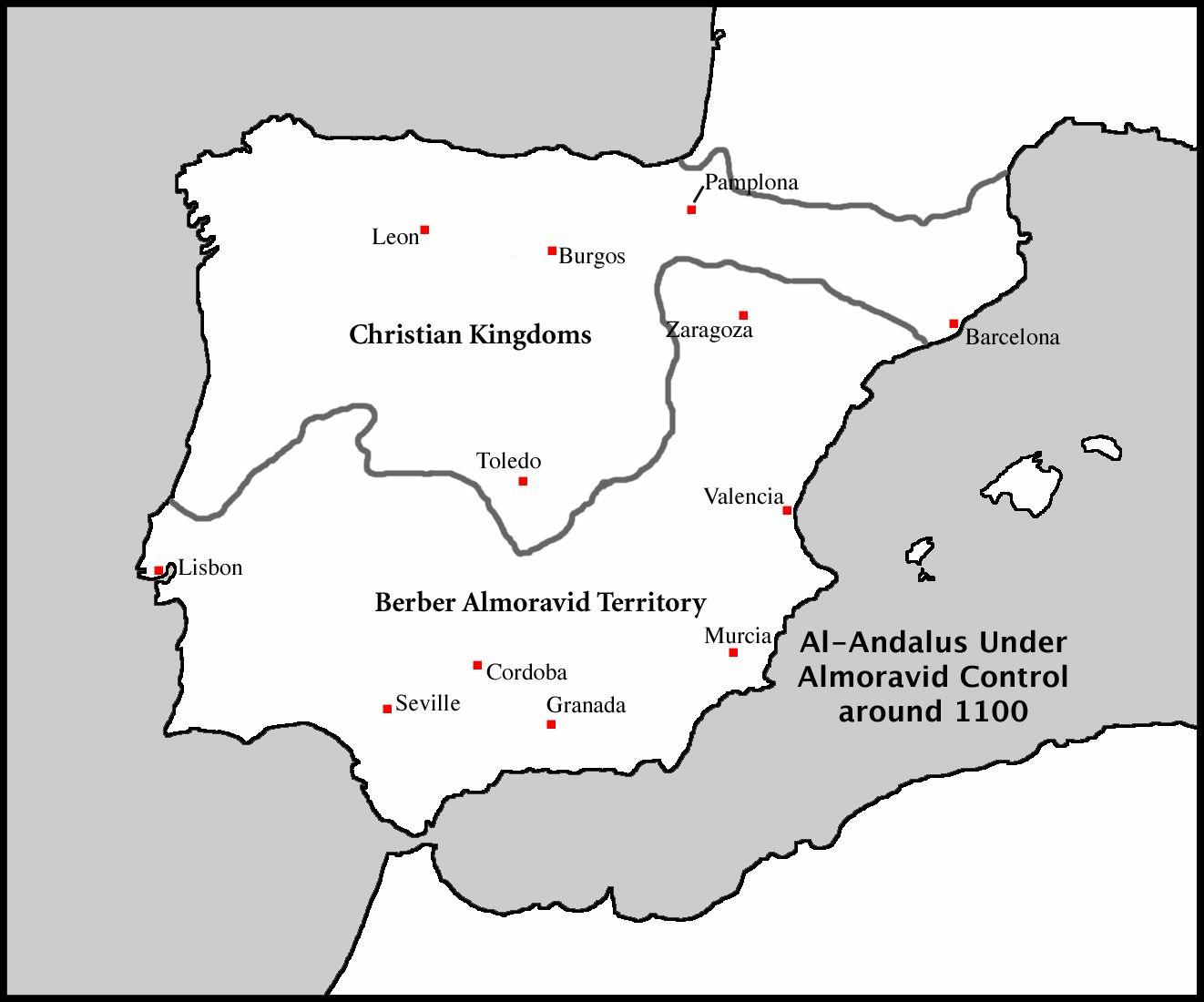 mapa guadalquivir españa