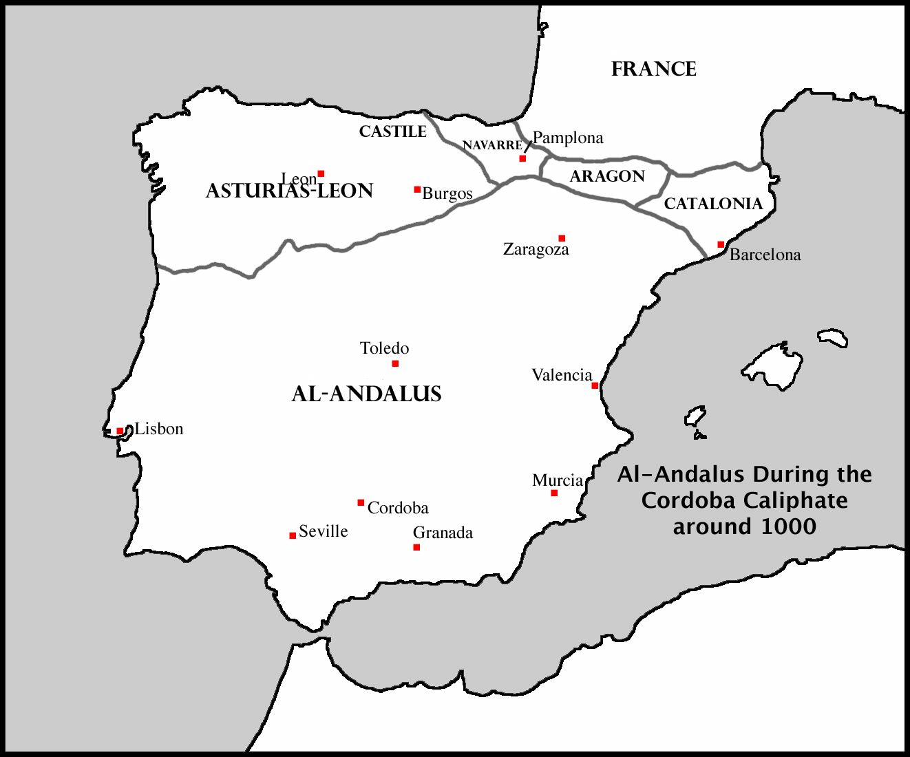 Map Of Spain Blank.Sitemap