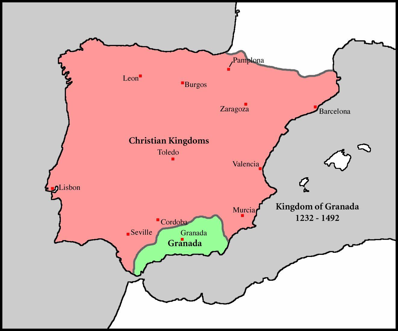 Spain Granada - Color