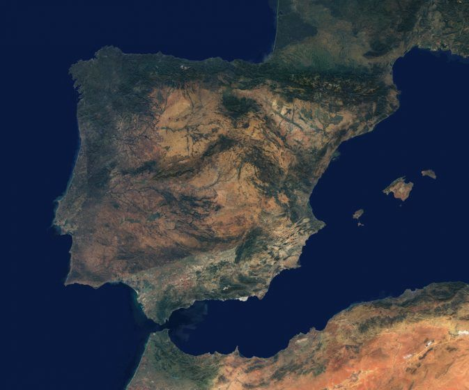 Spain Space View