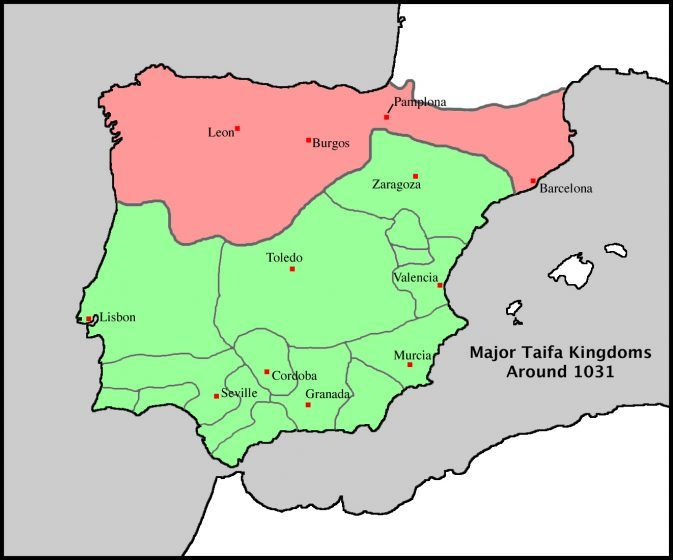 Spain Taifa Cities