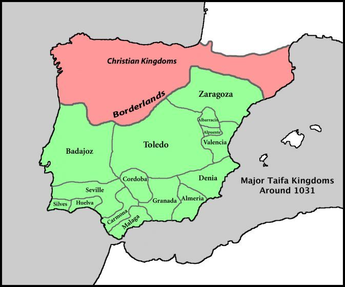 Spain Taifa Color