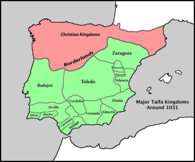 Spain Taifa Color